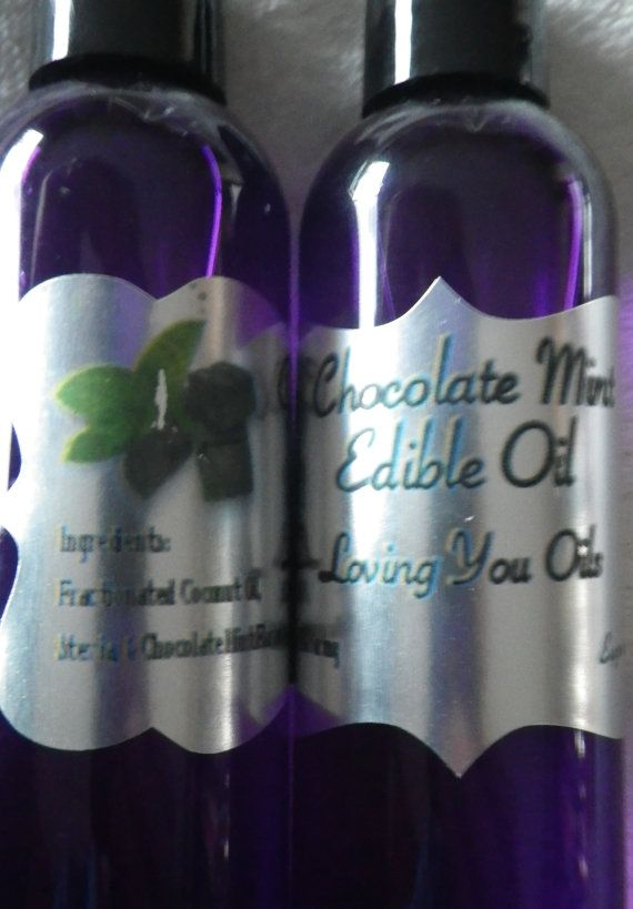 Chocolate Mint Edible Oil Inspired by by LovingYouOilsAndMore