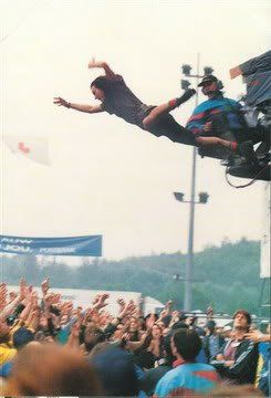 Guess who Always jumped so high, Is starts With E Ends With R, EDDIE VEDDER!!