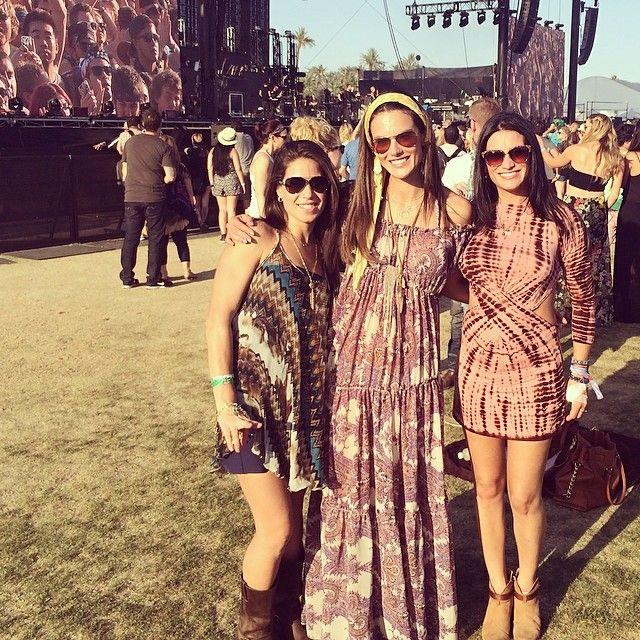 Pin for Later: Let Alessandra Ambrosio's Coachella Style Inspire Your Festival Looks This Year A Fun Headband