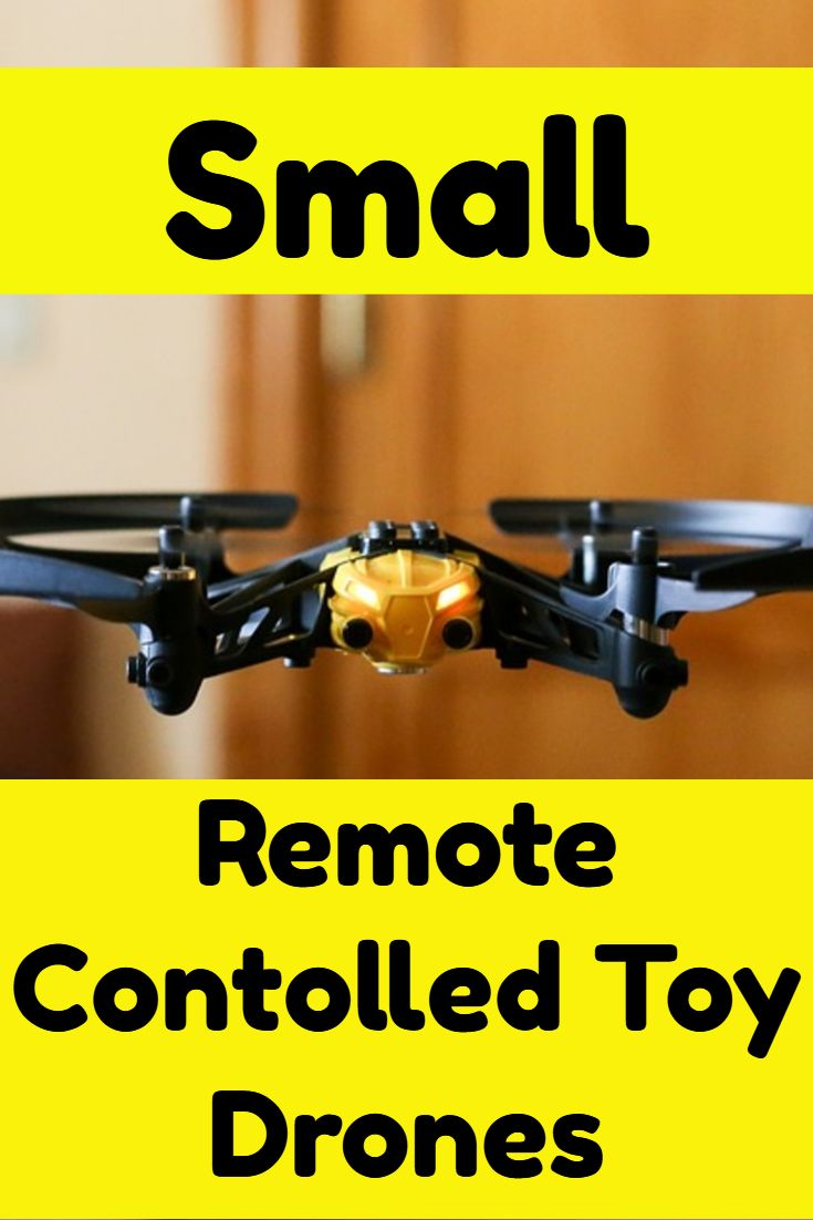 Perfect childs Gift Idea. Small Remote Controlled Toy Drones.