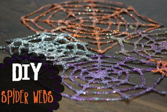 52 Weeks of Pinterest: Week 39 – DIY Spider Web Decorations!