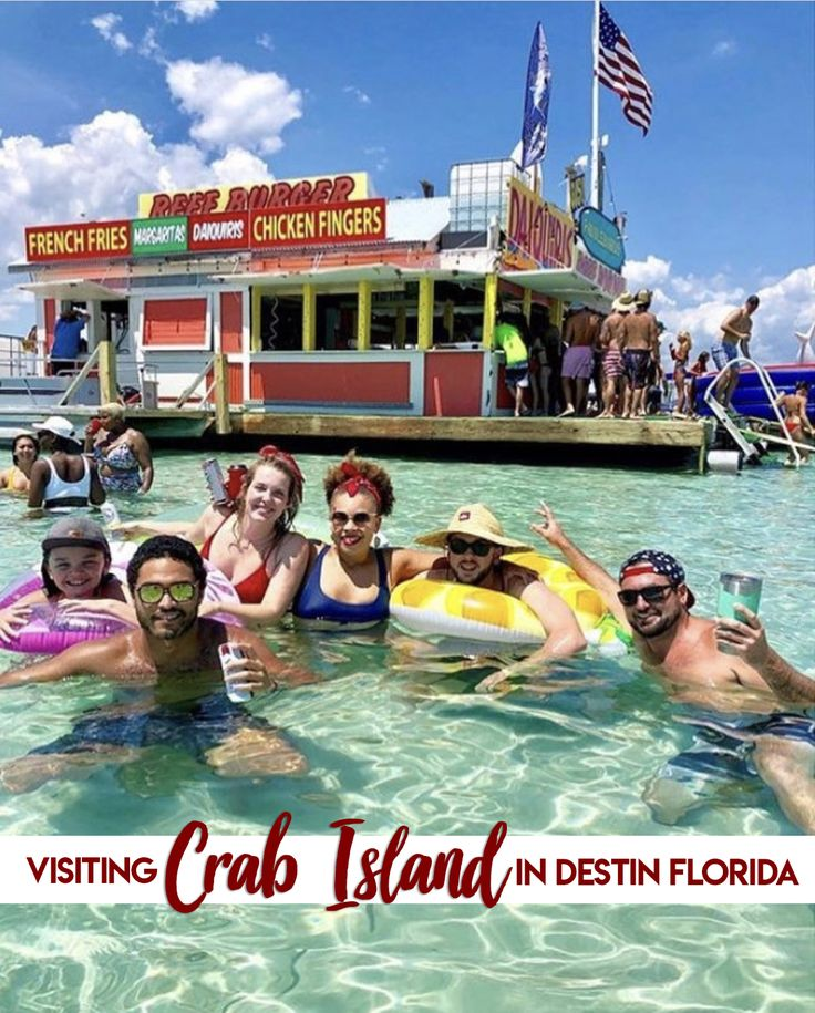 How do i get to crab island