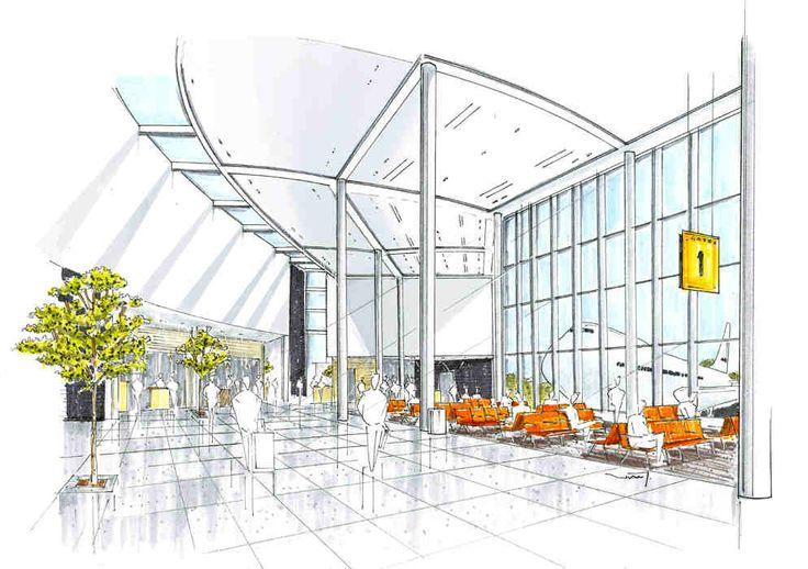 interior sketch | interior renderings | pinterest | 인테리어 및 스케치