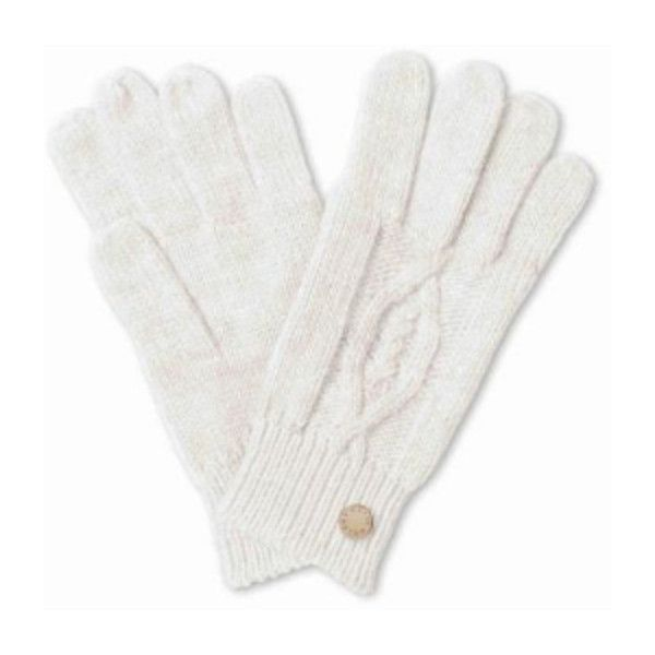 Cream Cable Knit Gloves ($24) ❤ liked on Polyvore featuring accessories, gloves, cable gloves, cream gloves, cable knit gloves, studded gloves and gold glove