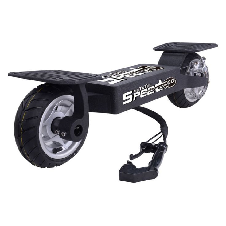 MotoTec Speed Go Electric Scooter - MT-SG_BLACK