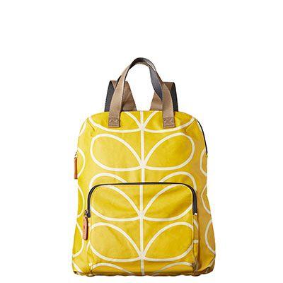 Orla Kiely | USA | bags | Stem bags | Giant Linear Stem Backpack Tote (16SELIN138) | dandelion