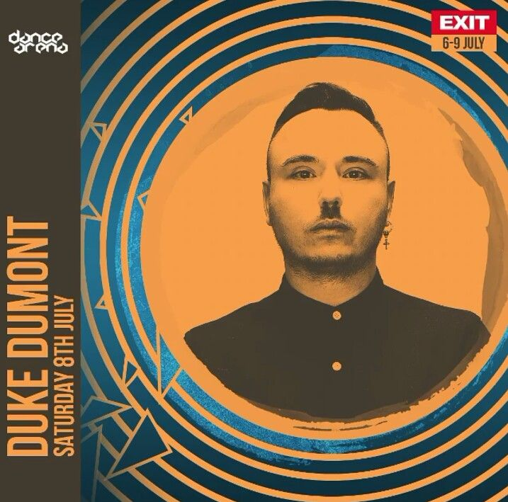 Duke Dumont confirmed for Exit Festival 2017