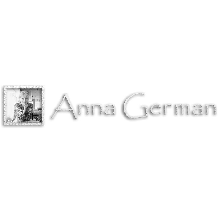 """Przejrzyj mój projekt w @Behance: """"Logo Anna German"""" https://www.behance.net/gallery/45789061/Logo-Anna-German"""
