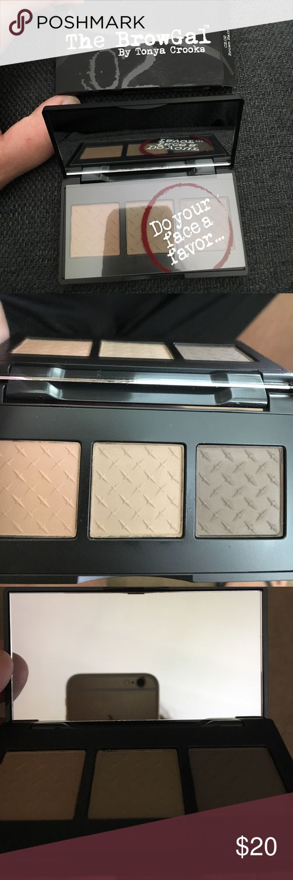 The Brow Gal (Brow Palette) New. Still in box. Never used. Meant for people with brown hair. Sephora Makeup Eyebrow Filler