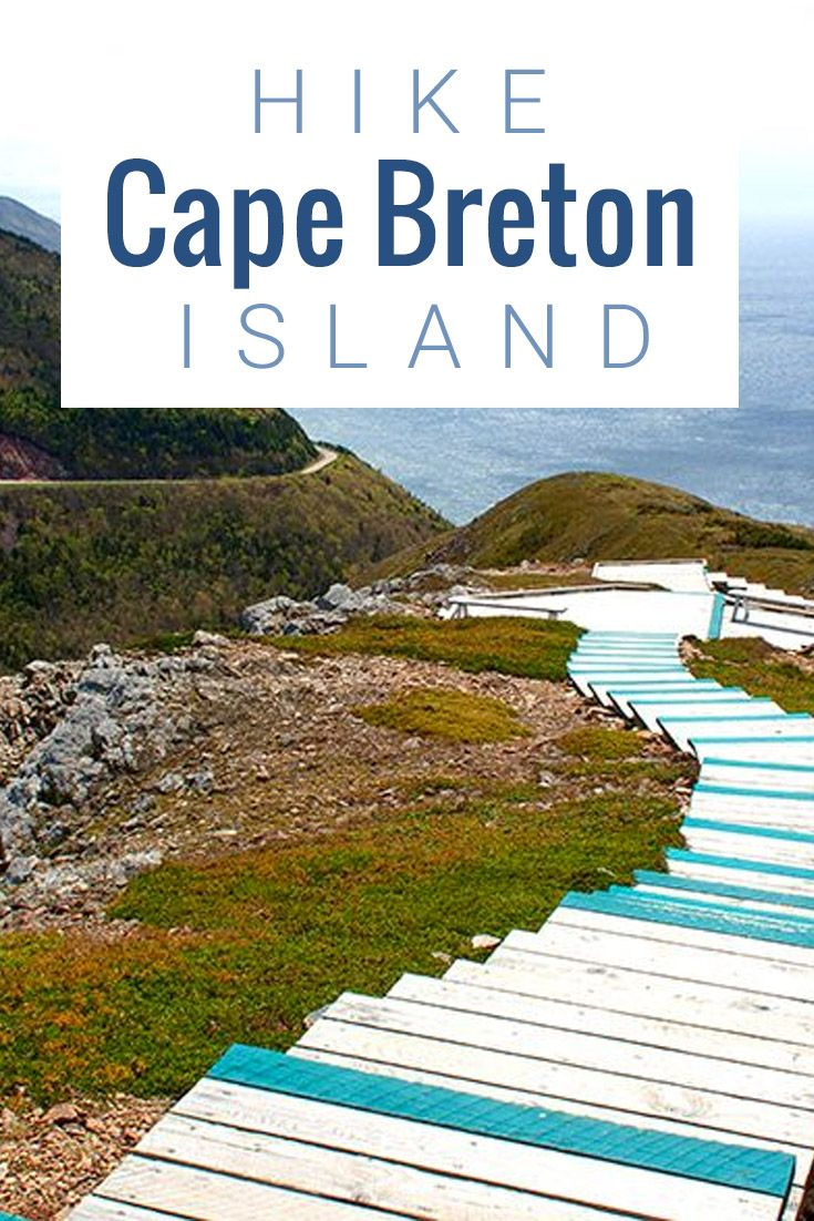 Hiking the skyline trail on Cape Breton Island is a must do. It leads you to one of the most incredible views of the ocean expanse.