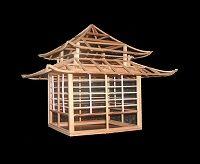Teehaus - Der japanische Garten