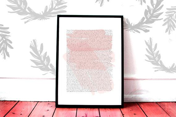 Printable Hillary Clinton Concession Speech Pink  by smarterimpact