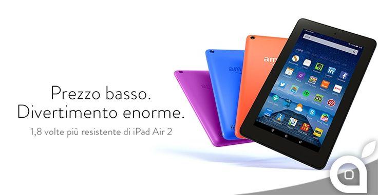 Disponibili i nuovi Kindle Fire di Amazon in 3 nuovi colori e con più memoria