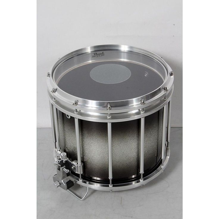 Pearl Championship CarbonCore Varsity FFX Marching Snare Drum Burst Finish 14 x 12 in., Black Silver #368 190839095527