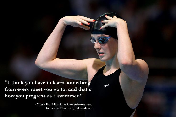 #Swimming legend Missy Franklin, American swimmer and four-time #Olympic gold medalist