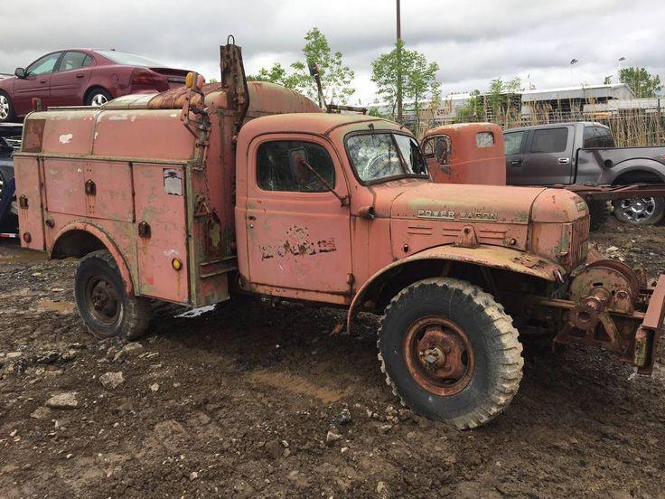 RARE 1957 Dodge Power Wagon Service Utility Truck