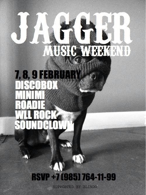 Music weekend @ Jagger