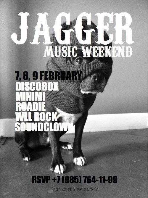 Music weekend @ Jagger