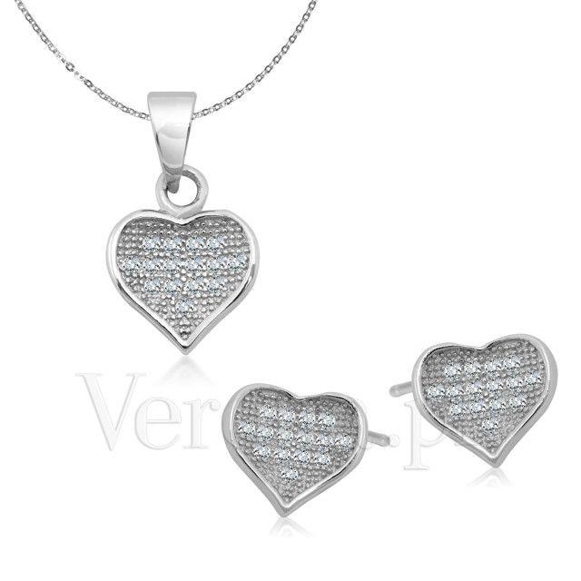 Świąteczny Komplet ze srebra / www.Verona.pl/komplet-swiateczny-9125 / BUY: www.Verona.pl/komplet-swiateczny-zloty-9093 / #christmas #Verona #buyonline #cheapandchic #perfectgift #gift #giftsideas #buy #online #silver #gold #pretty #style #classy