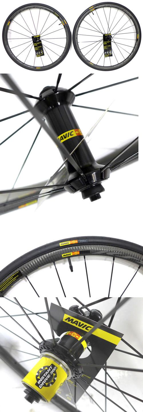 Wheels and Wheelsets 177830: Mavic Ksyrium Pro Carbon Sl C Wheel Set Clincher Shimano Sram New -> BUY IT NOW ONLY: $1499.88 on eBay!