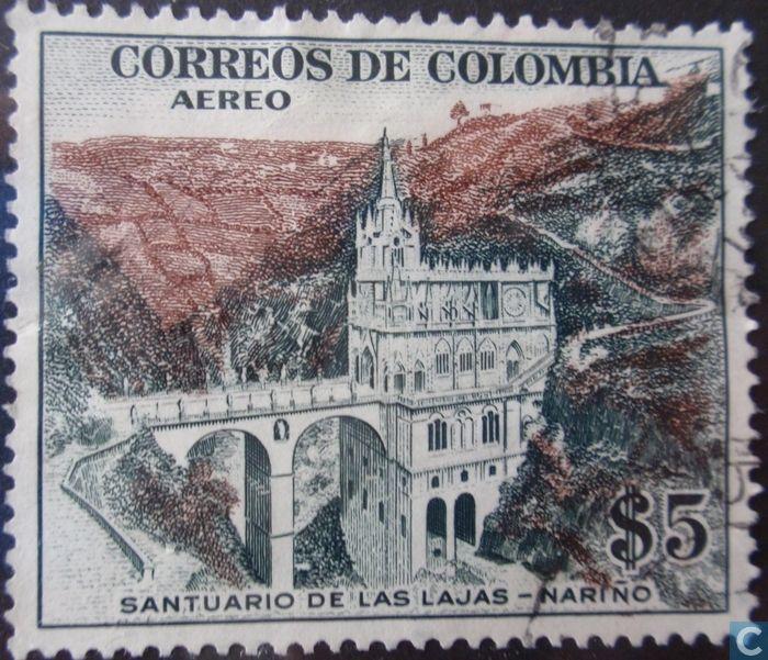 Postage Stamps - Colombia [COL] - De Las Lajas-Narino Sanctuary