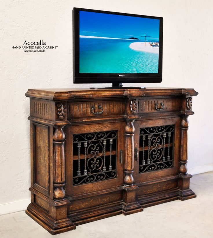 Spanish Hacienda Furniture Acocella Media Cabinet