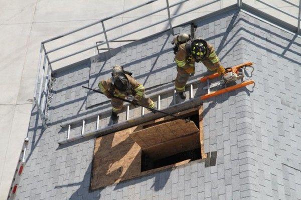 Photos: County Shows Off New Fire Training Academy | ARLnow.com