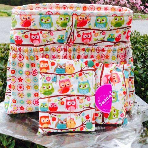 Organizador de mala, bolsa para lenços e bolsa higiene intima