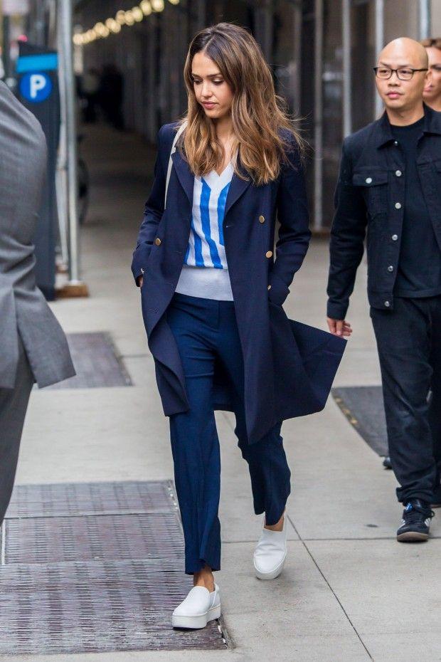 11 Looks da Jessica Alba - Fashionismo