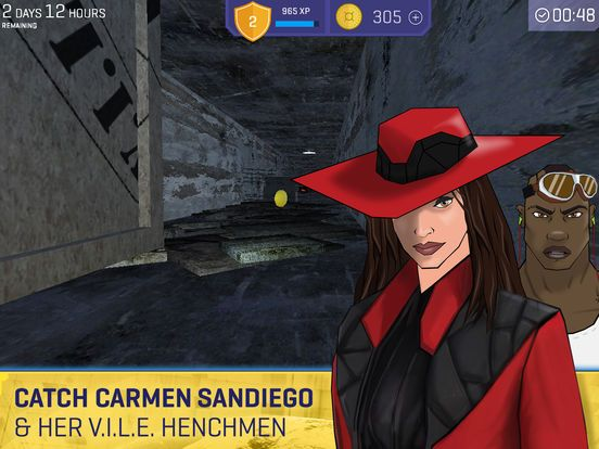Carmen Sandiego Returns-A Global Spy Game for Kids by Houghton Mifflin Harcourt
