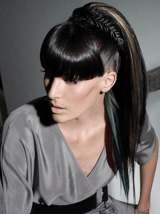 7 black ponytail hairstyles