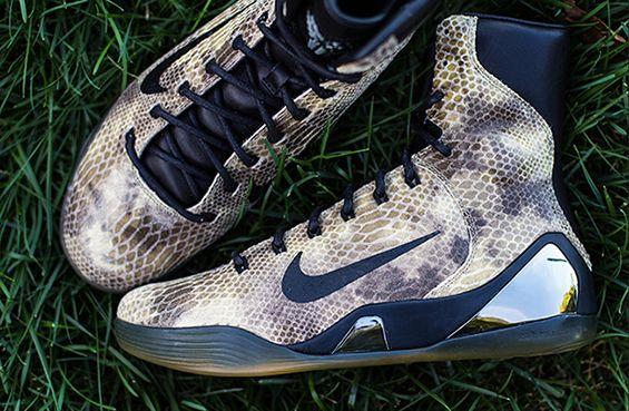 "Nike Kobe 9 High EXT QS ""スネークスキン"" : promostyl JAPAN news"