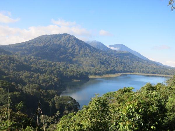 gunung lesung from N