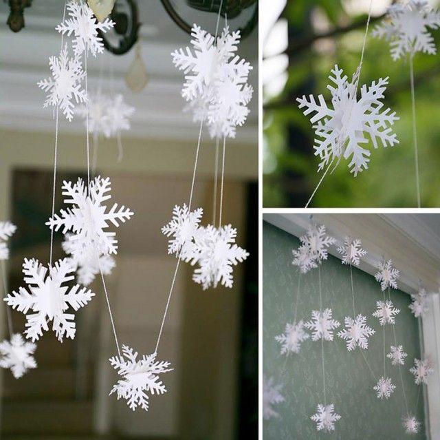 1000 id es propos de flocons de neige sur pinterest motifs de flocons de neige de papier - Flocons de neige en papier ...