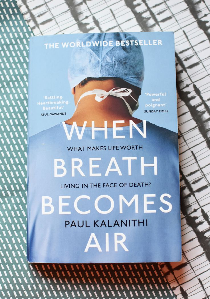 When Breath Becomes Air is a wonderful book by Paul Kalanithi. It details his life as a neurosurgeon before and after he was diagnosed with cancer. #books #bookstagram #booklover #bookaddict #bookshelf