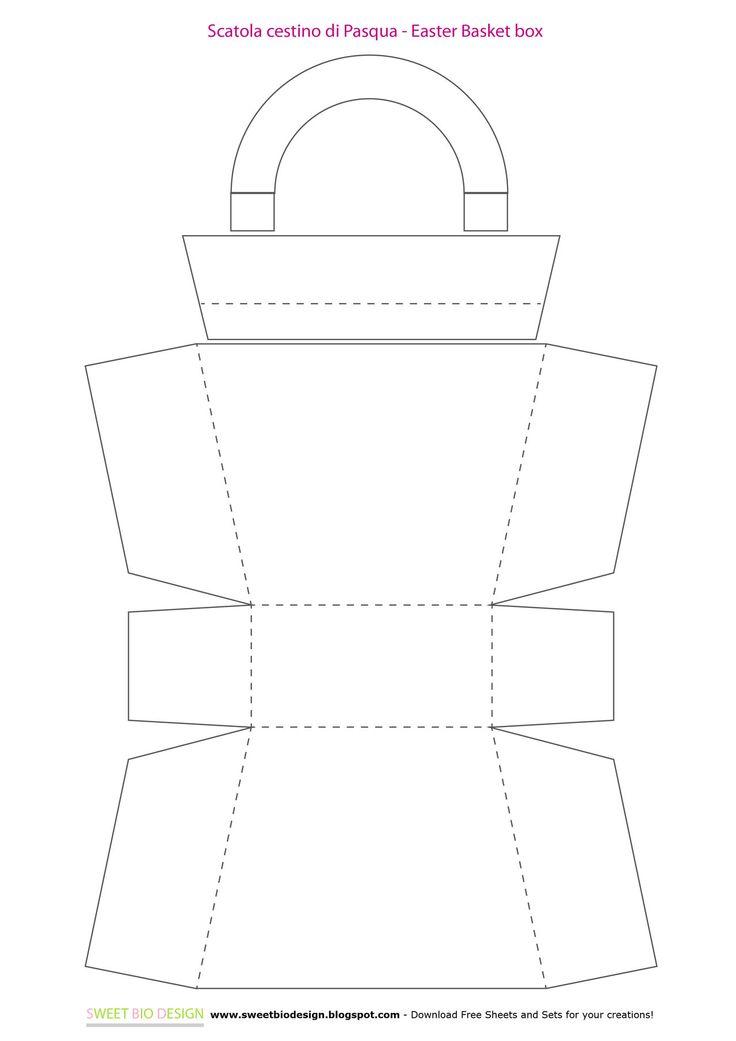 Sweet Bio design: Cestini di Pasqua porta dolcetti - Easter Baskets treats holder
