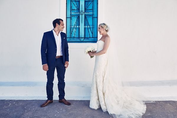 First Look - Do it in 2017 and take away the stress before the walk down the aisle | Luxury weddings in Greece