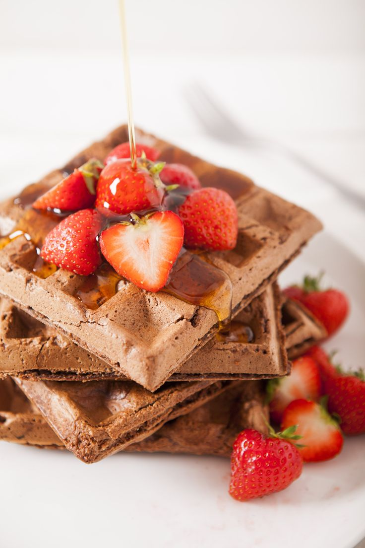 Vegan Gluten Free Chocolate Waffle