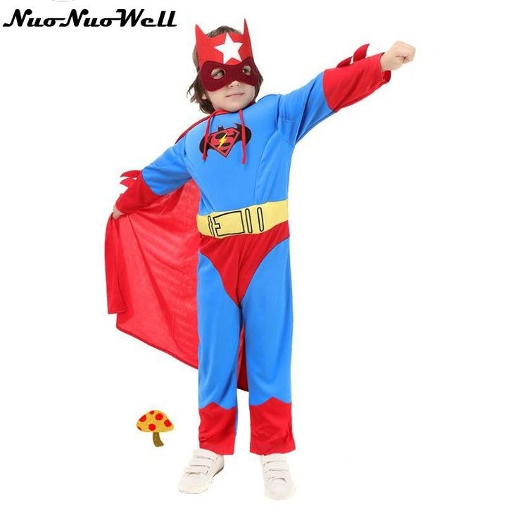 ==> [Free Shipping] Buy Best 2017 New Products Children's Day Halloween Superman Clothing Wear Kids Batman Cosplay Costumes for Party Online with LOWEST Price | 32819960696