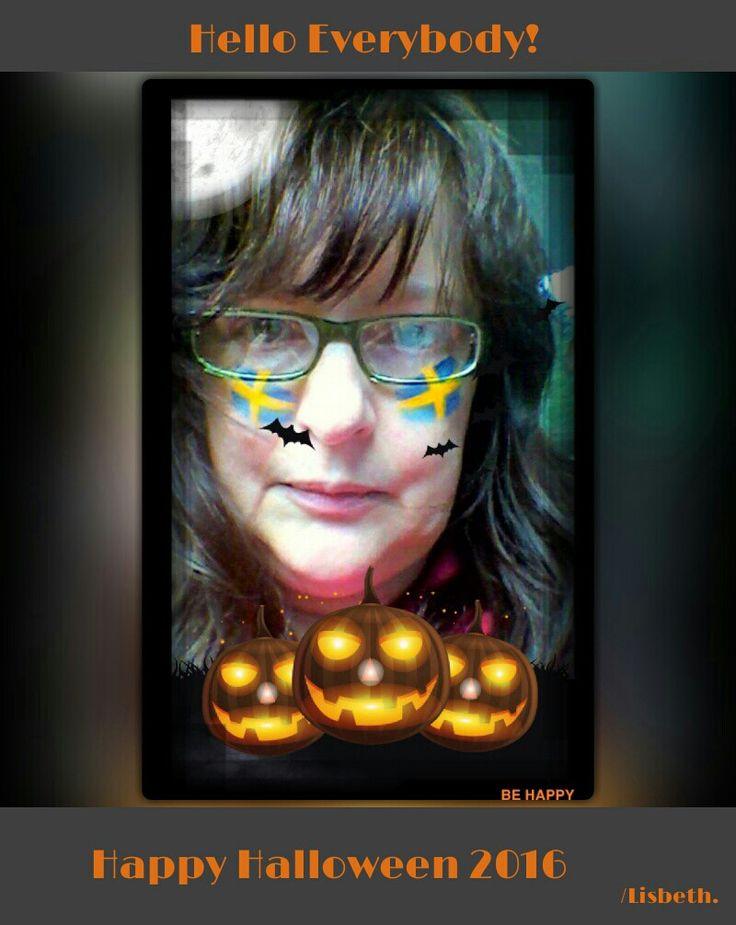 Hello Everybody! Happy Halloween 2016!!! /Lisbeth.