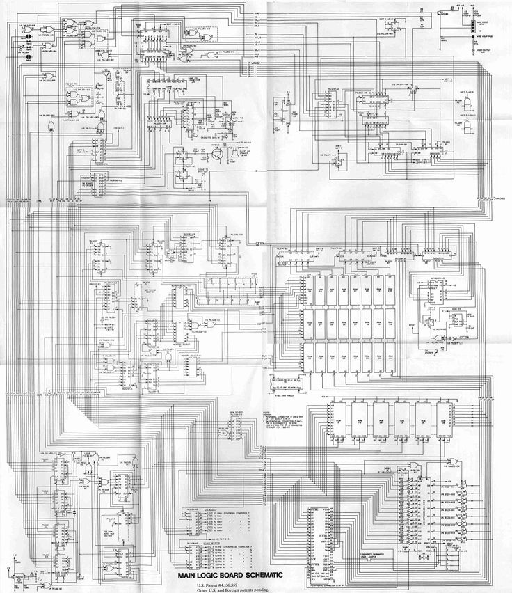 images about apple ][ on, schematic