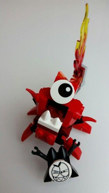 Lego mixels flamzer