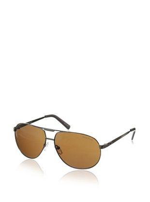 60% OFF Cole Haan Men's 7037 30 Aviator Sunglasses (Gunmetal)
