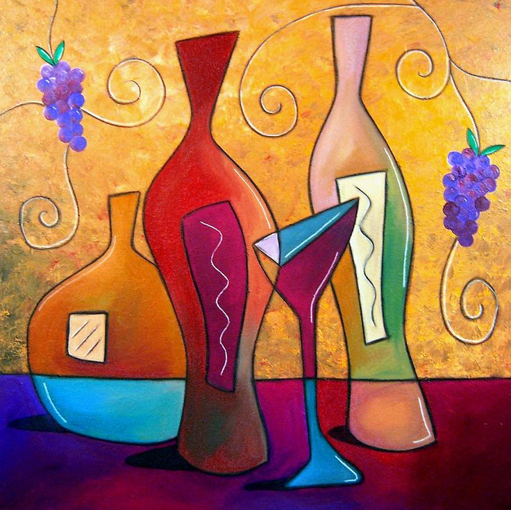 Off The Vine Painting  - Off The Vine Fine Art Print