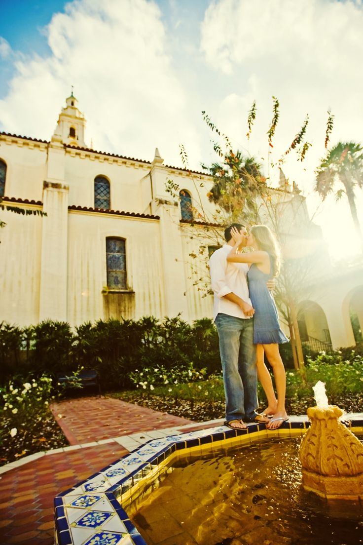 Melanie + Jonathan at Rollins College in Winter Park, FL » Concept Photography