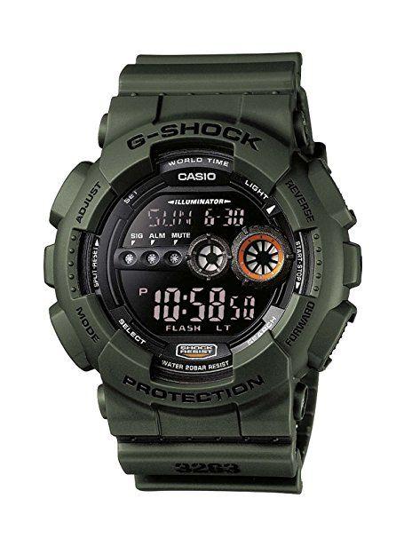 Casio G-Shock Herren-Armbanduhr Digital Quarz GD-100MS-3ER