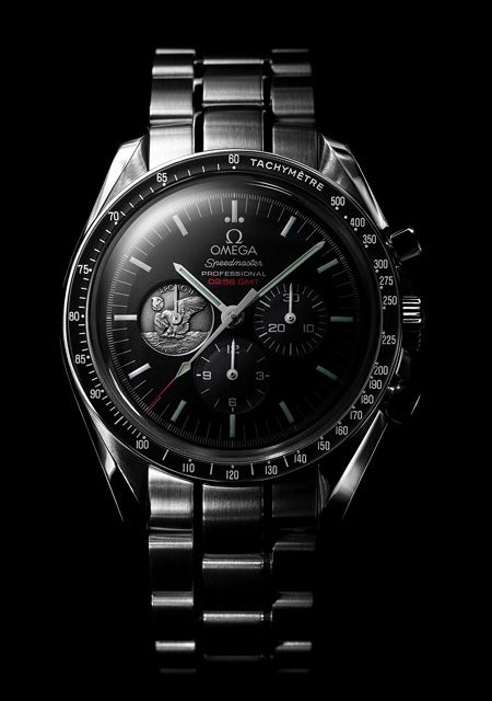 """Omega-Speedmaster Professional Moonwatch Apollo 11 """"40th Anniversary"""" LImited Edition"""