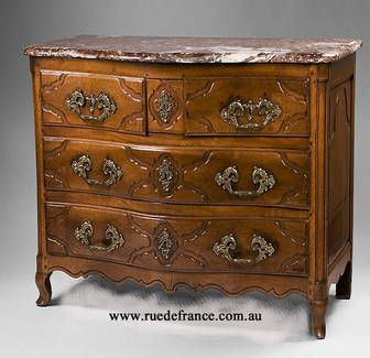 ANTIQUE FRENCH 18th CENTURY LOUIS XV COMMODE CHEST DRAWERS
