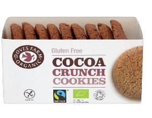 Poza Biscuiti bio cu cacao, fara gluten, 150g