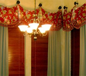 french country window treatments | Click here to e-mail: HawthornePainting
